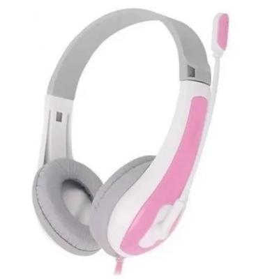 Fone Headset Newlink Hit Rosa