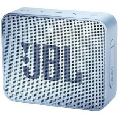Caixa de Som Bluetooth JBL GO2 Ciano