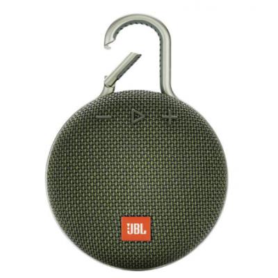 Caixa de Som Bluetooth JBL CLIP3 Verde