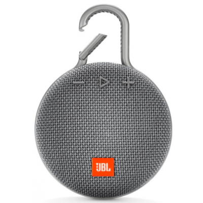 Caixa de Som Bluetooth JBL CLIP3 Cinza Escuro