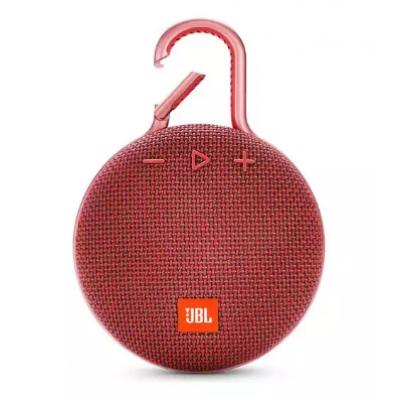 Caixa de Som Bluetooth JBL CLIP3 Vermelho
