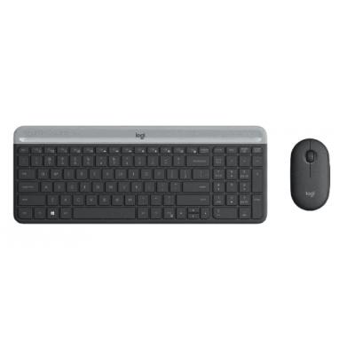 Kit Teclado e Mouse Logitech sem Fio MK470