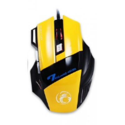 Mouse Gamer ESTONE X7 Amarelo