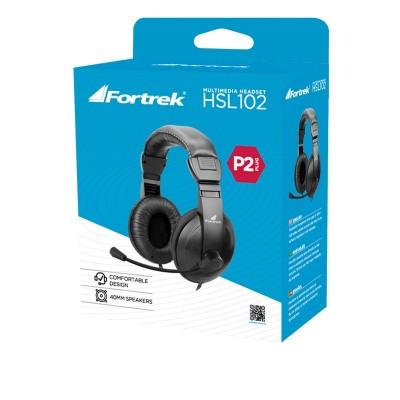Fone Headset Multimídia Fortrek HSL102