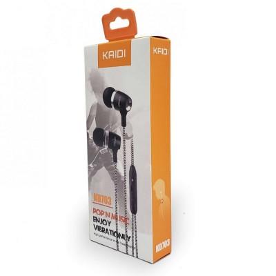 Fone de Ouvido Wireless com Microfone Kaidi KD703