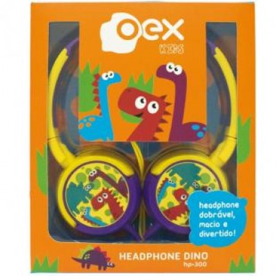 Fone HeadPhone Dino Oex HP300
