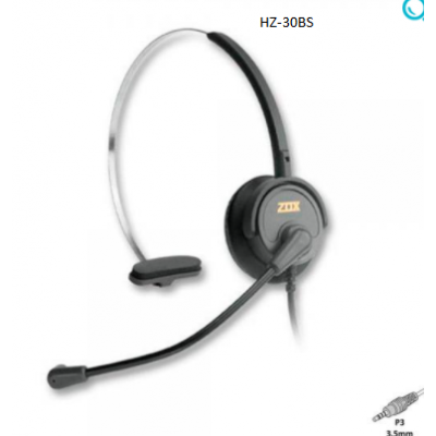 Headset Zox HZ-30BS