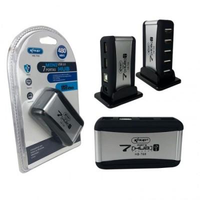 Hub USB 2.0 7 Portas com Fonte
