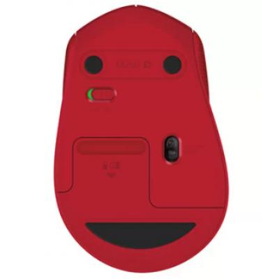 Mouse  Logitech Sem Fio M280 Vermelho