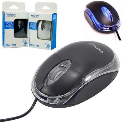 Mouse Exbom com Fio MS-10
