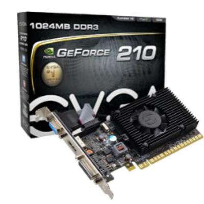 Placa de Vídeo PCI-Express DDR3 GT210