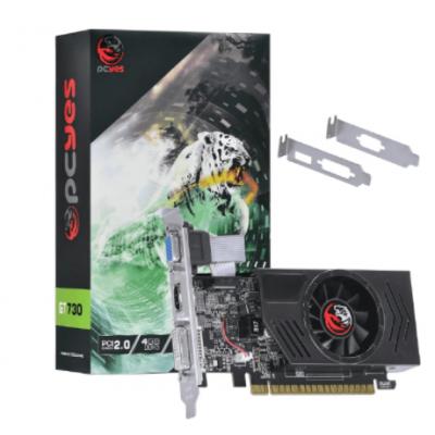 Placa de Vídeo Pcyes Nvídia Geforce GT730 2Gb DDR5 64Bits