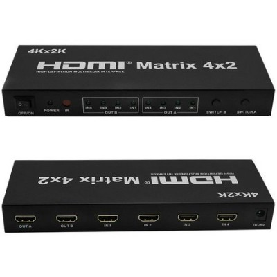 Matrix 4x2 HDMI 4K