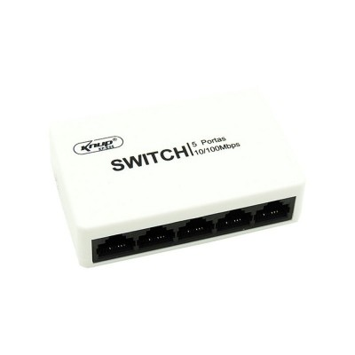 Switch 5 Portas KP-E05