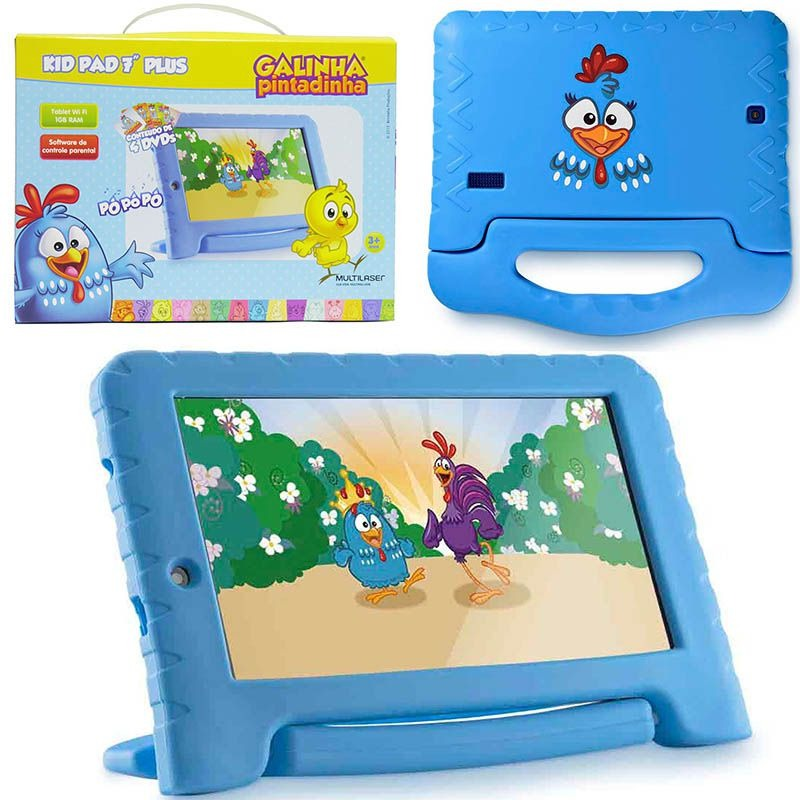 Tablet Galinha Pintadinha Plus NB282