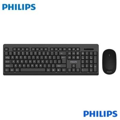 Kit Teclado e Mouse Philips sem Fio C324