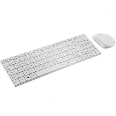 Kit Teclado e Mouse Multilaser sem Fio TC203