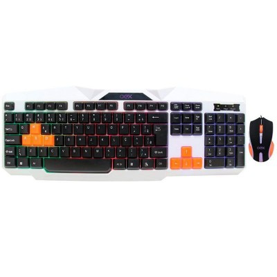 Kit Teclado e Mouse Oex Gamer TM300