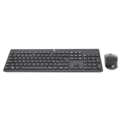 Kit Teclado e Mouse HP sem Fio Keyboard 200